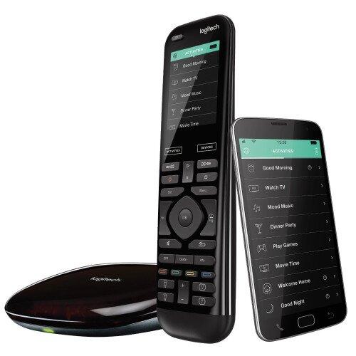 Logitech Harmony Elite Advanced Universal Remote Control, Hub, and App