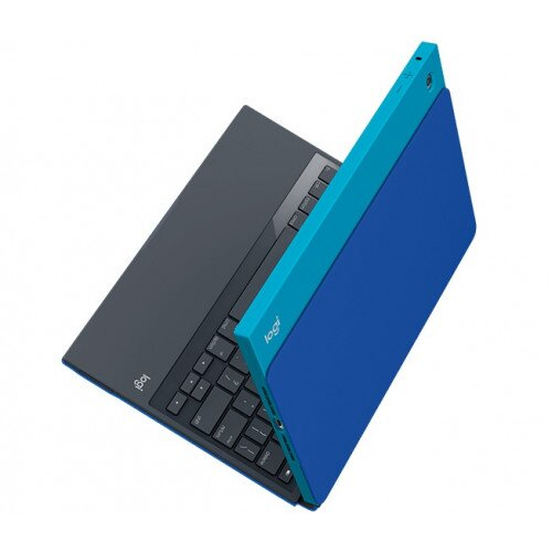 Logitech BLOK Protective Keyboard Case for iPad Air 2 - Teal / Blue