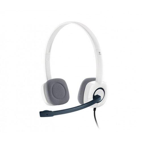 Logitech H150 Stereo Headset - White