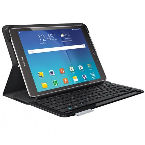 Logitech Type - S Keyboard Case for Samsung Galaxy Tab A - Black
