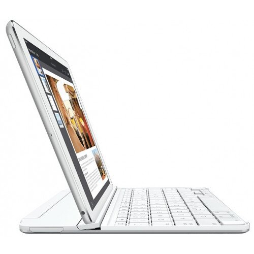 Logitech Ultrathin Magnetic Clip-On keyboard Cover for iPad Air - Silver