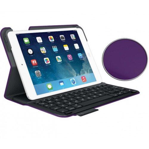 Logitech Ultrathin Keyboard Folio for iPad Mini, iPad Mini with Retina Display - Purple