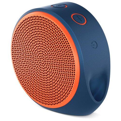 Logitech X100 Mobile Wireless Speaker - Orange
