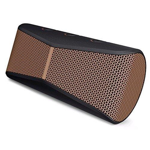 Logitech X300 Mobile Wireless Stereo Speaker - Black/Brown