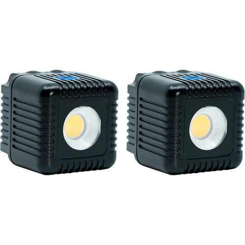Lume Cube 2.0 Adjustable LED Light for Photo & Video - Two Pack