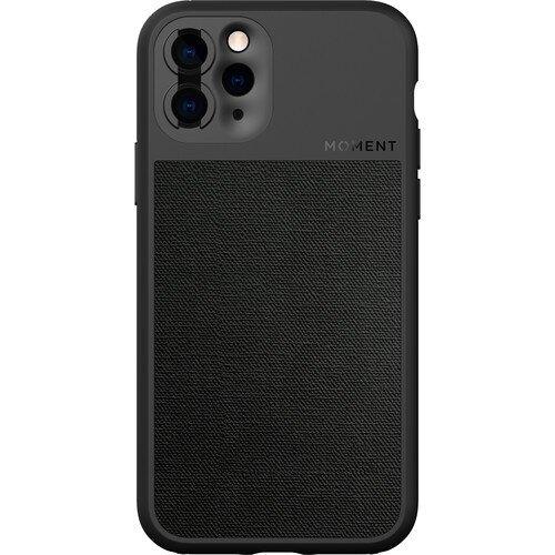 Moment iPhone Photo Case - iPhone 11 Pro - Black Canvas