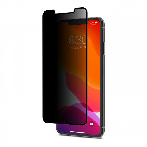Moshi IonGlass Privacy Screen Protector for iPhone 11 Pro Max - Black (Clear/Glossy)
