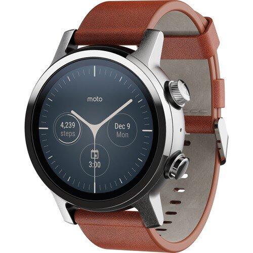 Motorola Moto360 Generation 3 Smartwatch - Steel Grey