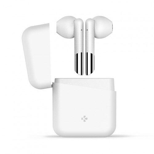 MyKronoz ZeBuds Lite TWS Wireless Earbuds with Charging Case - White