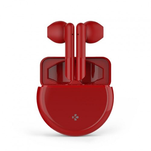 MyKronoz Zebuds Pro Tws Earbuds With Wireless Charging Case - Red