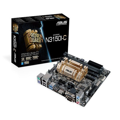 ASUS N3150I-C Motherboard