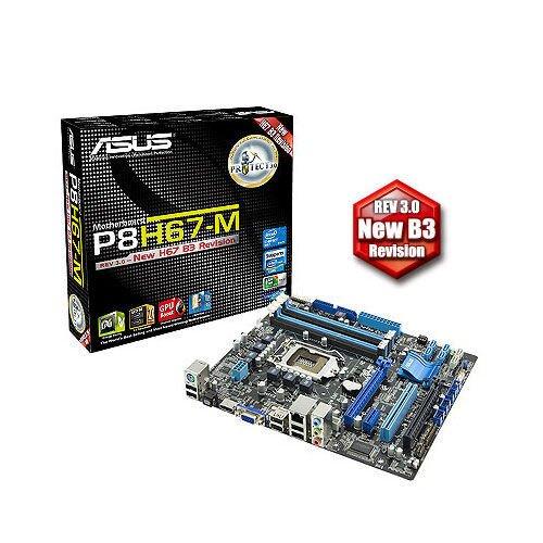 ASUS P8H67-M Motherboard