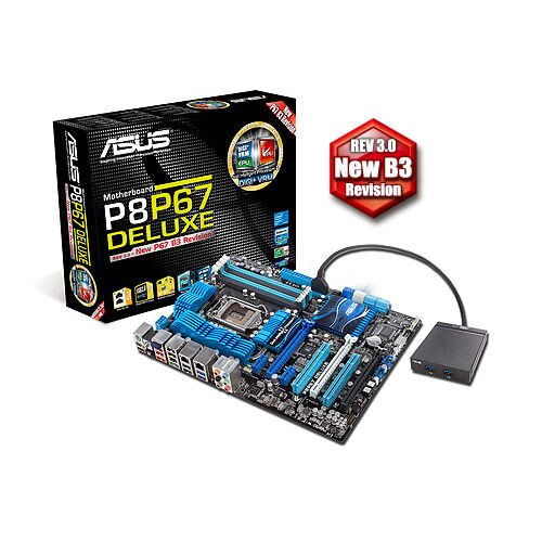 ASUS P8P67 Deluxe Motherboard