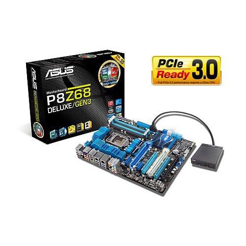 ASUS P8Z68 Deluxe/Gen3 Motherboard
