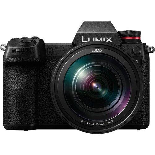 Panasonic LUMIX S1 Kit, Digital Mirrorless Camera with 24.2MP MOS Full Frame, 24-105mm F4 L-Mount Lens