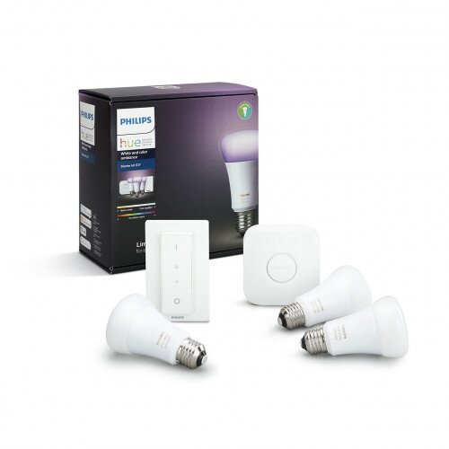 Philips Hue Smart White and Color Ambiance Starter Kit E27