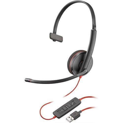 Poly Plantronics Blackwire 3200 Series Corded UC Headset