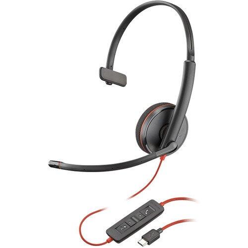 Poly Plantronics Blackwire C3210 Type-C Corded UC Headset