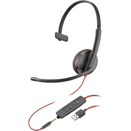 Plantronics Blackwire C3215 Type-A Corded UC Headset