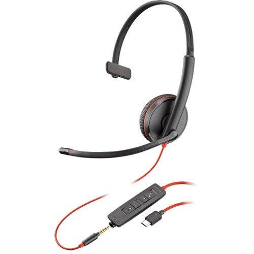 Plantronics Blackwire C3215 Type-C Corded UC Headset