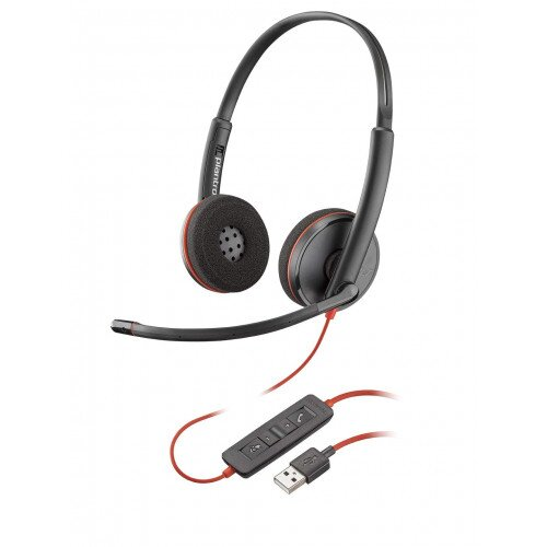 Plantronics Blackwire C3220 Type-A Corded UC Headset