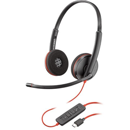 Plantronics Blackwire C3220 Type-C Corded UC Headset