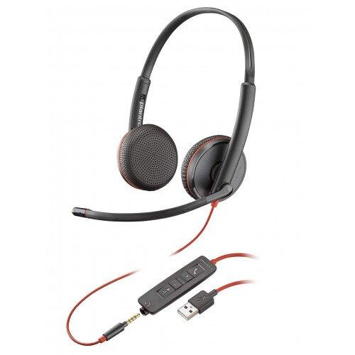 Plantronics Blackwire C3225 Type-A Corded UC Headset