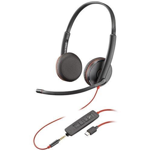 Plantronics Blackwire C3225 Type-C Corded UC Headset