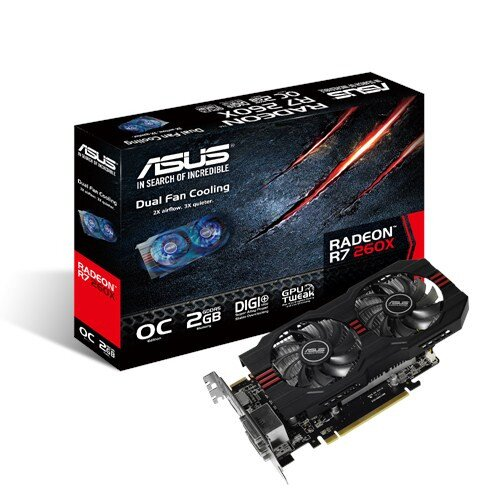 ASUS R7 260X OC Edition Graphics Card