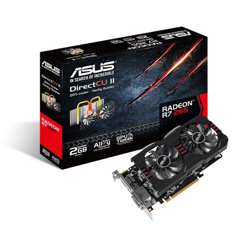 ASUS R7265-DC2-2GD5 Graphics Card