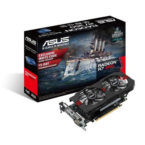 ASUS Radeon R7 360 Graphics Card