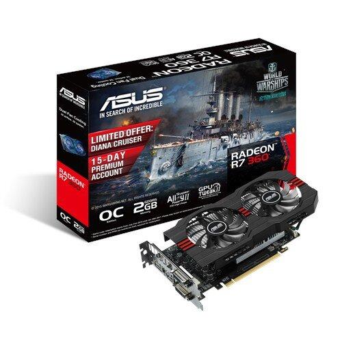 ASUS Radeon R7 360 OC Edition Graphics Card