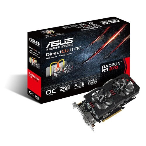 ASUS R9270-DC2OC-2GD5 Graphics Card