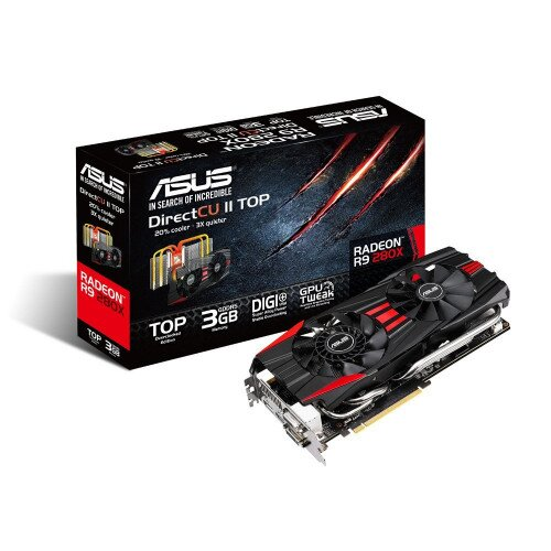 ASUS Radeon R9 280X DirectCU II Graphics Card