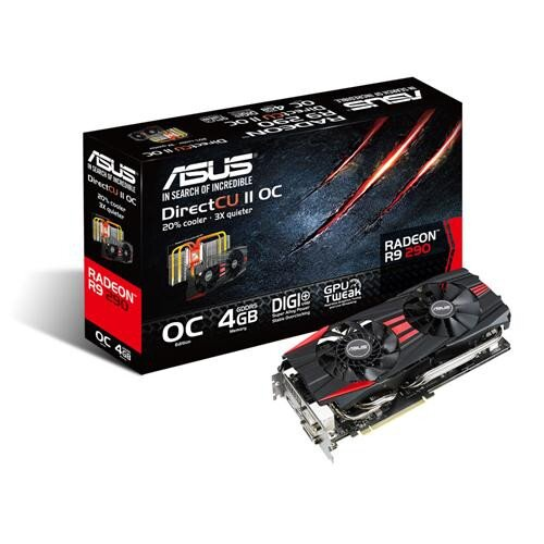 ASUS Radeon R9 290 DirectCU II Graphics Card