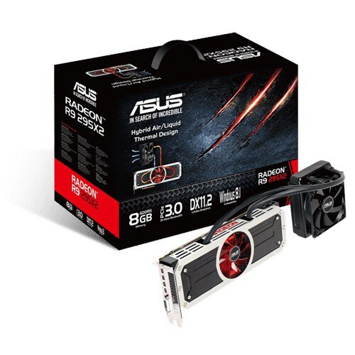 ASUS Radeon R9 295X2 Graphics Card