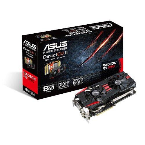 ASUS Radeon R9 390 Graphics Card