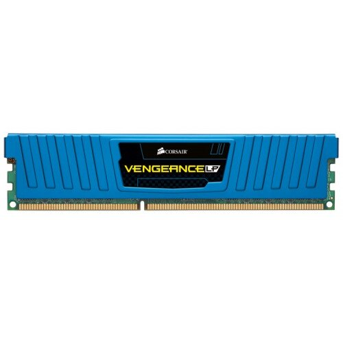 Corsair Vengeance Low Profile - 32GB Dual/Quad Channel DDR3 Memory Kit - Blue