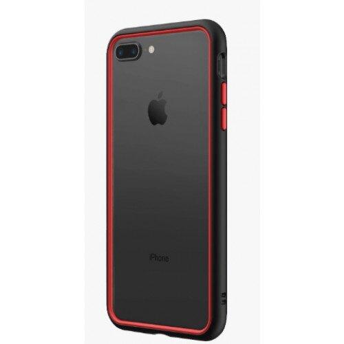 RhinoShield CrashGuard NX Bumper Case - iPhone 8 Plus - Black & Red