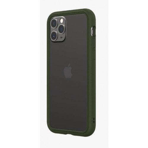 RhinoShield CrashGuard NX Bumper Case - iPhone 11 Pro - Camo Green