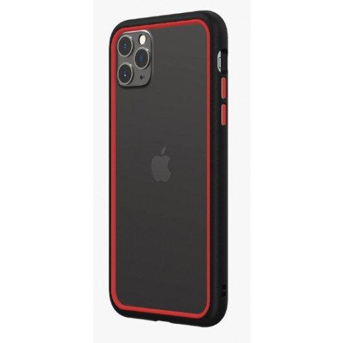 RhinoShield CrashGuard NX Bumper Case - iPhone 11 Pro Max - Black & Red