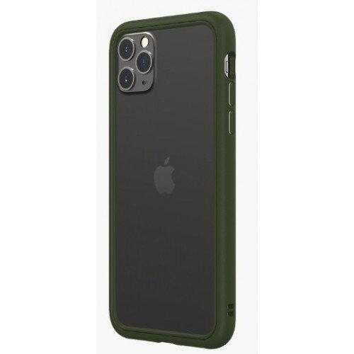 RhinoShield CrashGuard NX Bumper Case - iPhone 11 Pro Max - Camo Green