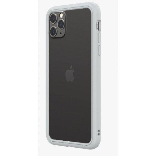 RhinoShield CrashGuard NX Bumper Case - iPhone 11 Pro Max - Platinum Gray