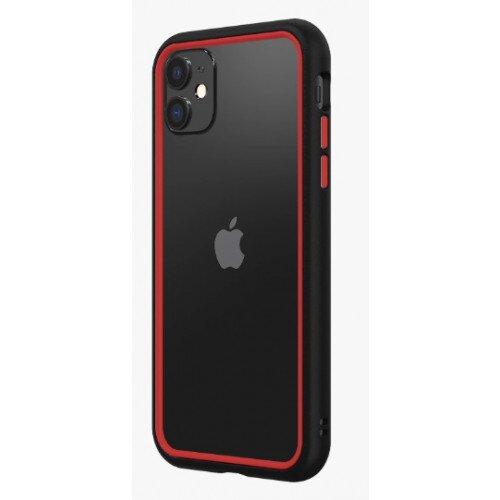 RhinoShield CrashGuard NX Bumper Case - iPhone 11 - Black & Red