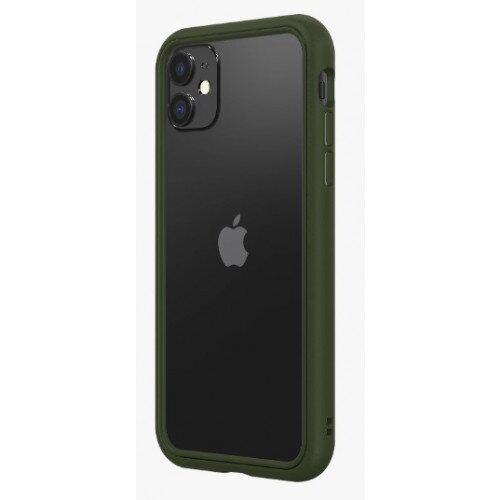 RhinoShield CrashGuard NX Bumper Case - iPhone 11 - Camo Green