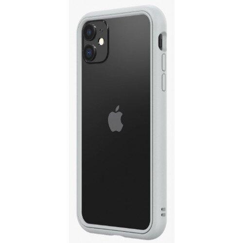 RhinoShield CrashGuard NX Bumper Case - iPhone 11 - Platinum Gray