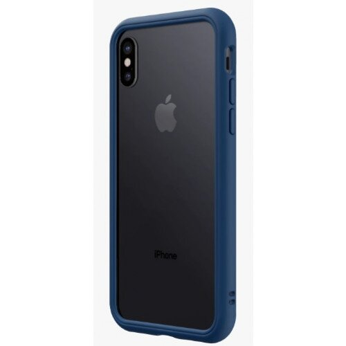 RhinoShield CrashGuard NX Bumper Case - iPhone X - Royal Blue