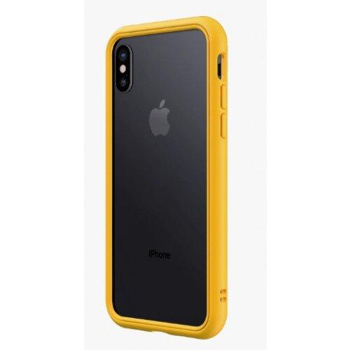 RhinoShield CrashGuard NX Bumper Case - iPhone X - Yellow