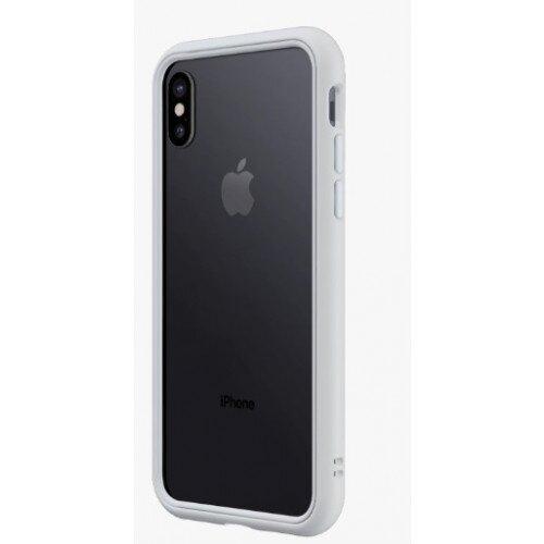 RhinoShield CrashGuard NX Bumper Case - iPhone X - Platinum Gray
