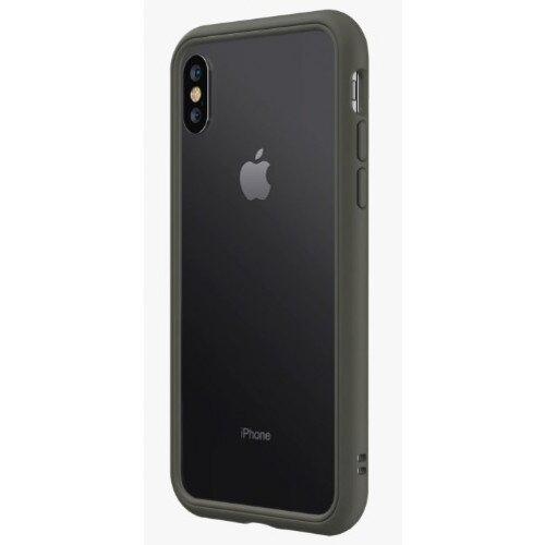 RhinoShield CrashGuard NX Bumper Case - iPhone XS - Graphite